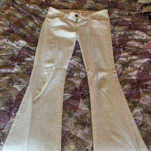 White J brand jeans